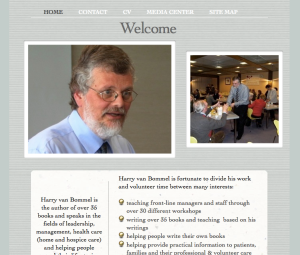 Harry van Bommel's Home Page
