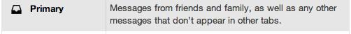 Primary Inbox