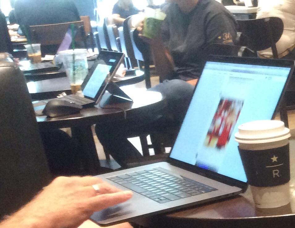 Coffeeshop & laptops